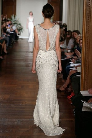 off white Jenny Packham dress