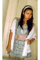 shirt - dress - belt