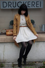 Gabor-boots-embroided-zara-dress-camel-topshop-jacket-vintage-bag