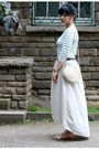 Ivory-mango-dress-green-vintage-belt-gold-river-island-sandals