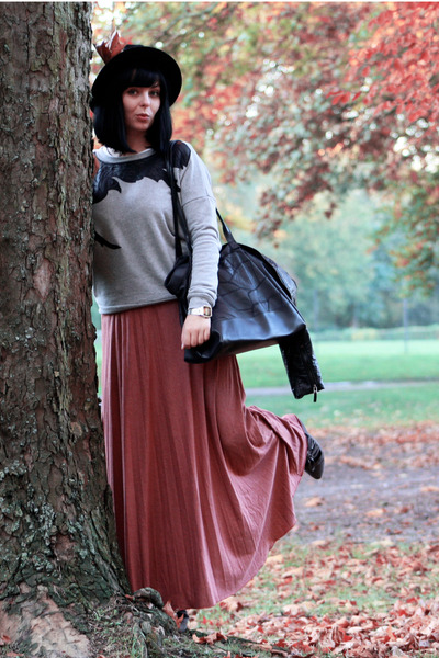 salmon maxi Atmosphere skirt - periwinkle bird Vero Moda jumper