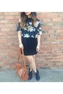 Ankle-boots-aldo-boots-cut-out-forever-21-dress