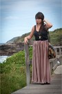 Tapestry-river-island-bag-pleated-maxi-american-apparel-skirt-house-of-harlo