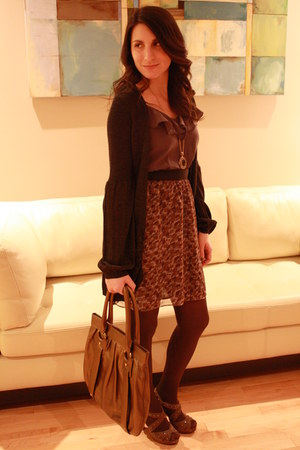 Urban Outfitters dress - banana republic purse - killah heels