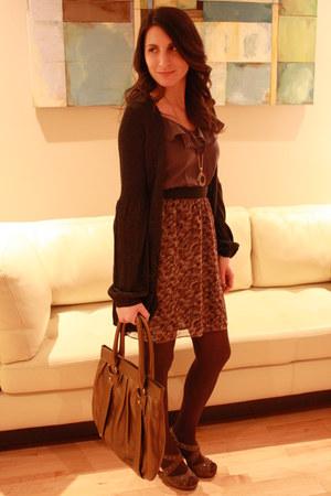 Urban Outfitters dress - banana republic purse - killah heels