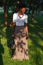 Marisa skirt - Marisa shirt - meli melo paris necklace