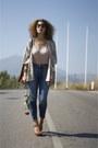 Zara-heels-h-m-jeans-vintage-bag-kimono-h-m-blouse-zara-belt