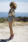 Zara-heels-bag-oysho-shorts
