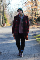 brick red Steve Madden coat