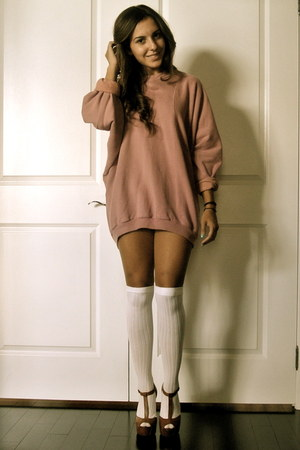 pink wilfred sweater