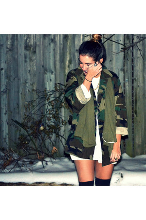 camo peaces coat