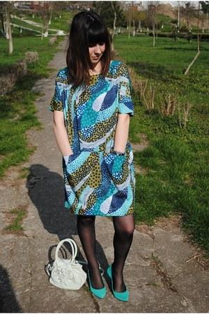 H&M Trend dress - Topshop bag