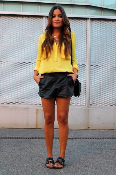 Yellow Blouse Zara 36
