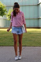 Zara shirt - Zara bag - Zara shorts - Lefties flats