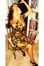 Betsey Johnson dress - BCBG shoes - BCBG accessories