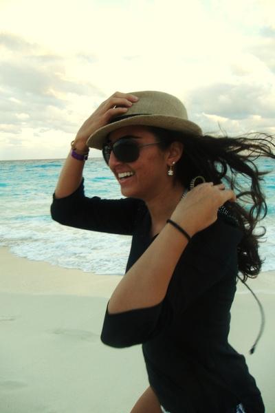no idea shirt - Brass Plumb hat - Chanel accessories - Tom Ford accessories
