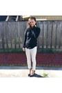 Black-uniqlo-sweater-white-gu-pants-black-madewell-blouse