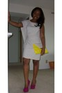 Forever21-dress-clutch-two-tone-lulus-bag-unknown-brand-heels