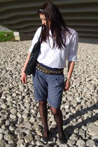 shorts - Zara shirt - Zara belt - - Mango