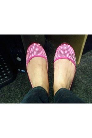 hot pink Candies flats