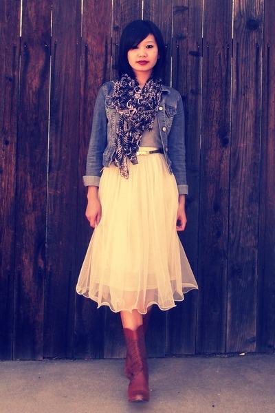 Mesh Tulle Ebony Eyes Skirt