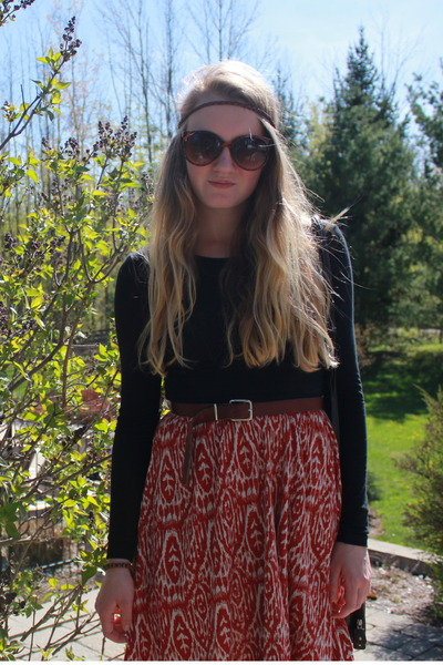 American Apparel shirt - ROOTS dress