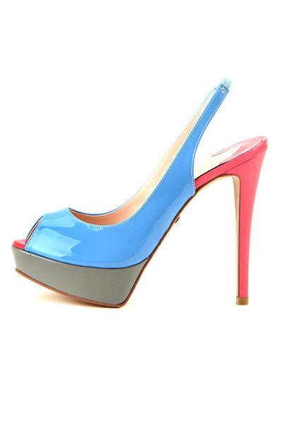 Colour of Cocktail sandals