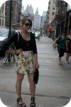 skirt - shirt - sweater - shoes
