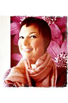 bubble gum silk scarf