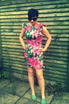 asos dress - ditsy floral Cath Kidston flats