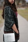 Black-faux-leather-mango-leggings-ivory-h-m-bag-black-laced-aldo-wedges
