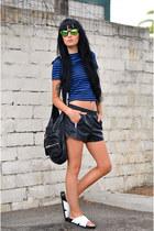 sam edelman shoes - Alexander Wang bag - Forever 21 shorts