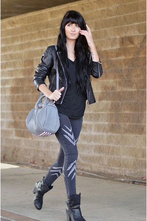 rag & bone boots - free people jeans - Doma jacket - Alexander Wang bag