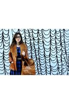 California Select dress - vintage from Wasteland jacket - Urban Outfitters bag