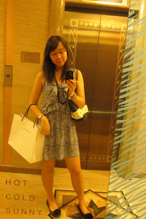 H&M dress - Juicy Couture necklace