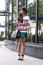 sequined dress H&M dress - H&M earrings