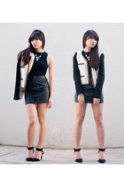leather skirts H&M skirt - Mango jacket