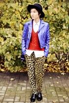 leopard print Ebay pants