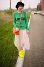 Ebay-bag-ebay-skirt-neon-ebay-sneakers