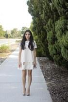 ivory tv eyes Cameo the label dress - eggshell marion Alexander Wang bag