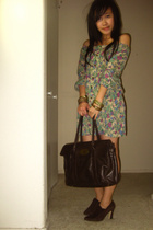 from singapore dress - Sergio Spencer ankle boots shoes - Mulberry purse