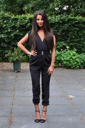 H&M jumper - Zara sandals