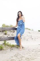Anthropologie dress - TJ Maxx sunglasses