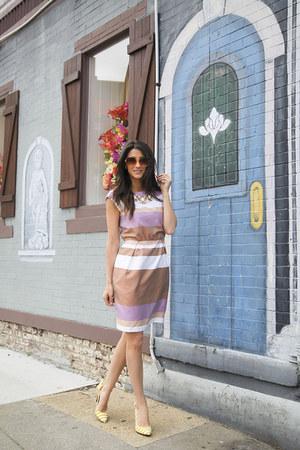 Ivy & Blu dress - Loft sunglasses - DSW heels