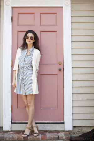 Paige Denim dress - Zara jacket - C Wonder sunglasses - TJ Maxx heels