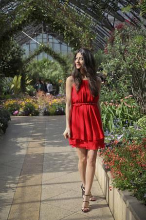 Jessica Simpson via TJ Maxx dress - Marc Fisher heels