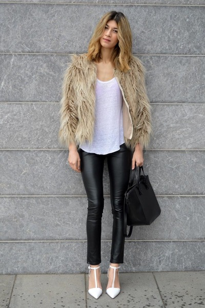 Zara bag - River Island pants