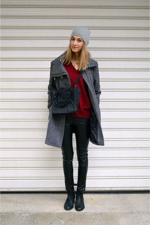 vagabond boots - Zara bag