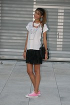 Zara skirt - Marc by Marc Jacobs bag