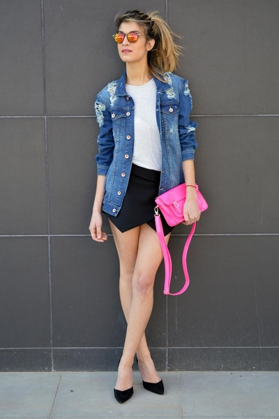 nastygal bag - Zara sunglasses